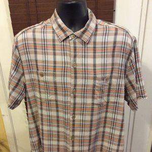 Tommy Bahama Silk Hawaiian Shirt Size Large